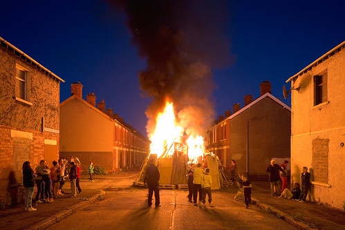 Bonfire in the Village