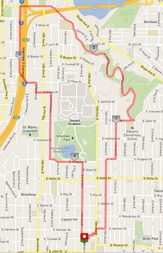 Today's awesome walk, 4.6 miles in 1:29 by christopher575