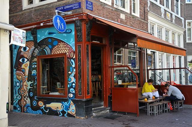 'Coffeeshop Abraxas Too' Spuistraat Amsterdam