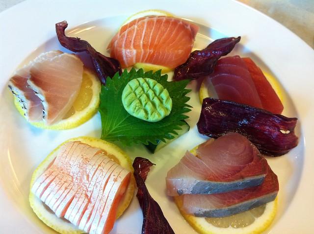 sashimi platter - mikan
