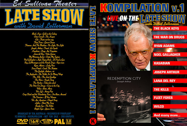 Late Show with David Letterman - Kompilation Vol. 1