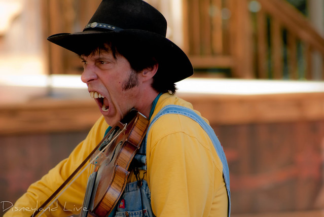 Billy Hill and the Hillbillies - Big Thunder Ranch - Disneyland