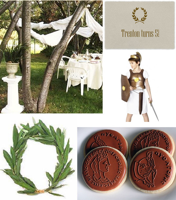 Noted ancient olympian party for Ancient greek decoration ideas