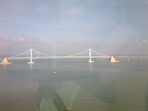 Diamond Bridge from Hotel Homers, Busan