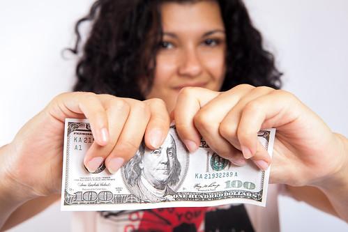 Tearing Money