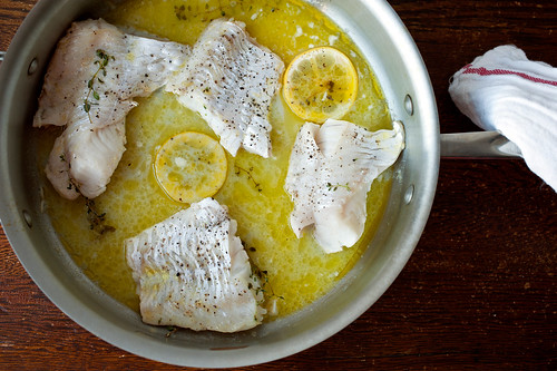 cooked hake - our saturday night dinners post farmers' market