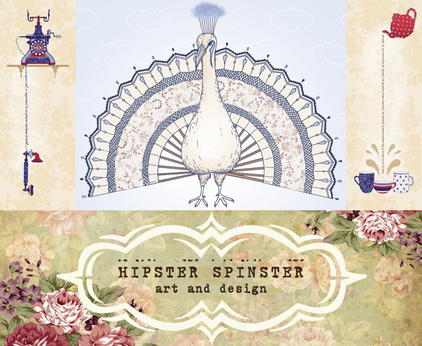 Hipster Spinster art and design | Emma Lamb