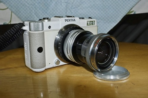 Pentax Q with SWITAR 10mm f1.6