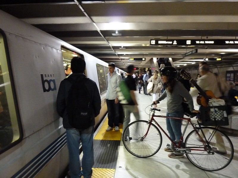 Bikes On Bart Bikes on BART Day All