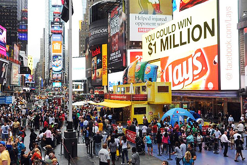 Boxman Studios and Lay's in Times Square