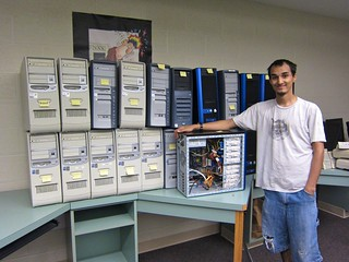 Josh Johnson and old computers for PCs for People