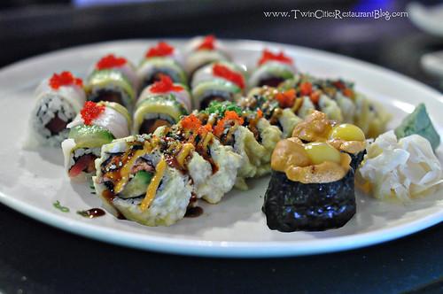 Sushi Rolls at Osaka Sushi & Hibachi ~ Roseville, MN