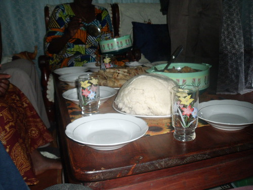 A welcome lunch yes its ugali