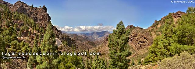 Camino al Roque Nublo (Gran Canaria, España)