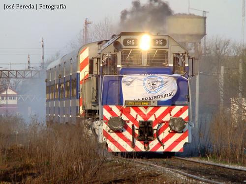 Tren especial a Justo Daract.