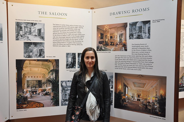 Photos of inside Sandringham House