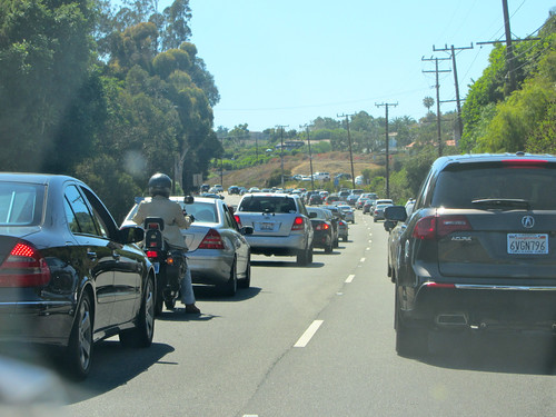 malibu traffic