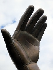 hand, finger, glove,