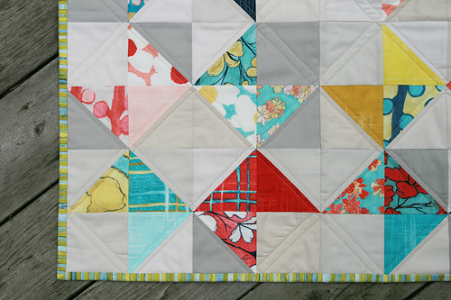Cosmos Ribbon Quilt