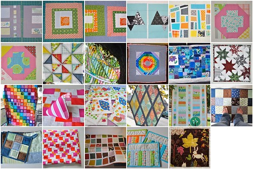 2011 - Quilts, minis, do.Good Stitches blocks