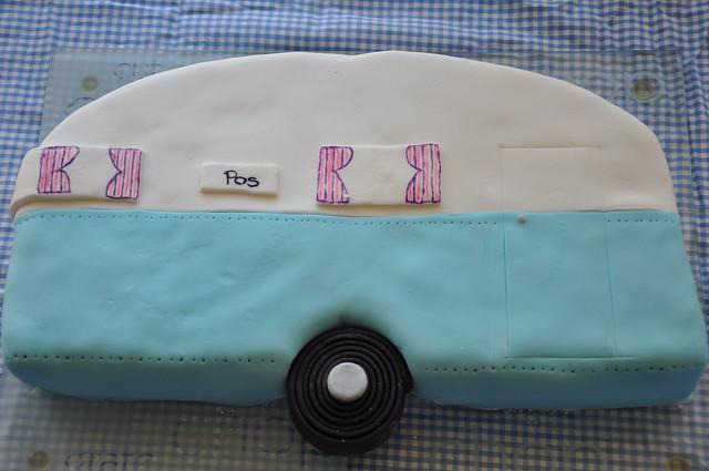 Vintage Caravan Cake