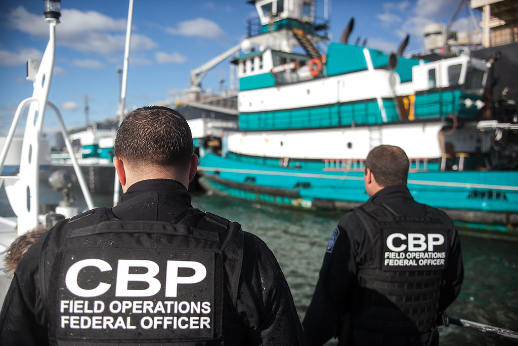 customs and border protection resume