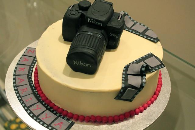 торт фотоапарат как сделать?