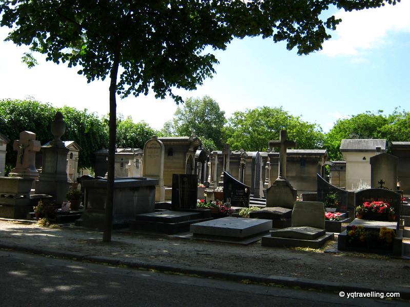Tombstones in Montparnasse