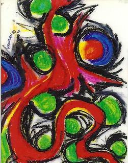 Kring drawing 1995