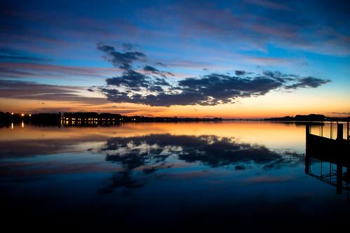 sunset sky italy lake night clouds lago pier italia tramonto nuvole cielo wharf mantova lombardia mantua pontile superiore antoniotrogu pwpartlycloudy