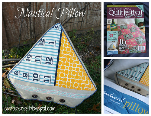 Nautical Pillow Mosaic