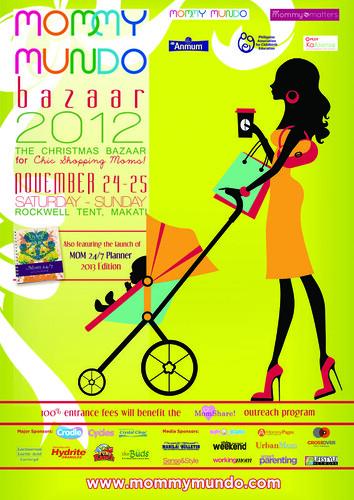Mommy Mundo Bazaar Poster