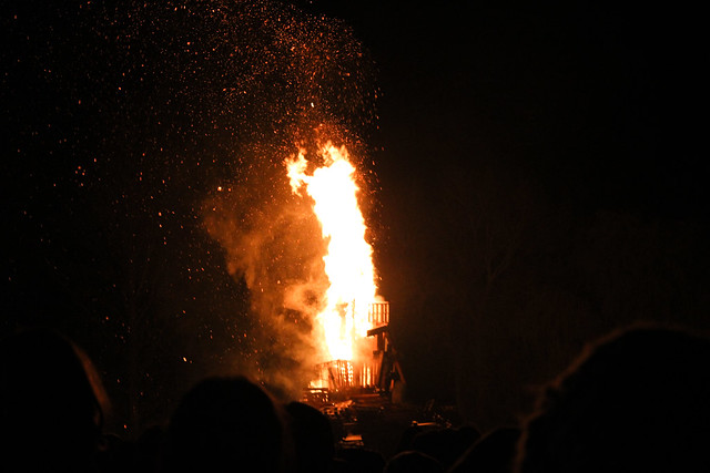 Bonfire night, noche de Guy Fawkes