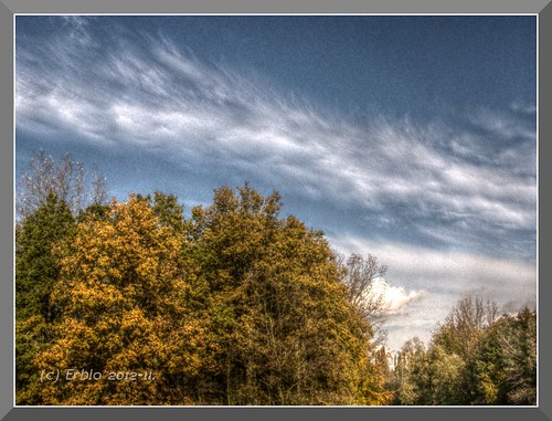 Autumn Sky HDR