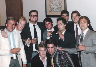 Pomona College graduation party at Griswold's in 1985. Photo submitted by Tom Owens '85
