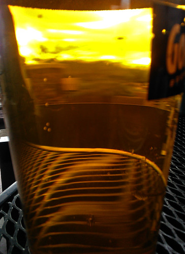 arizona sun abstract beer glass table glendale az bubble gordonbiersch