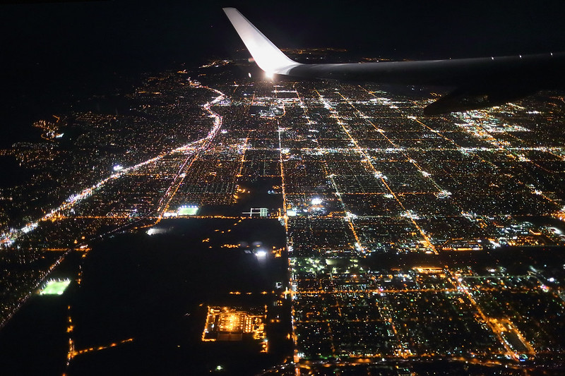Air Travel - Los Angeles from Above