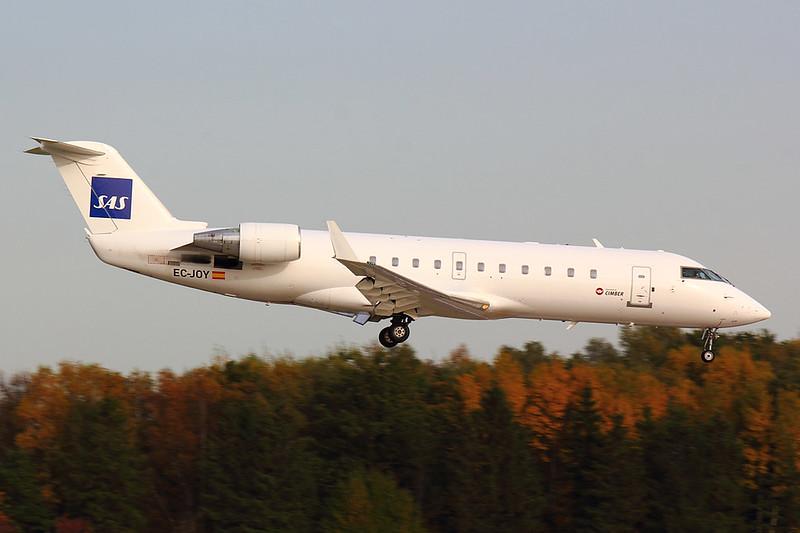 SAS Cimber - CRJ2 - EC-JOY