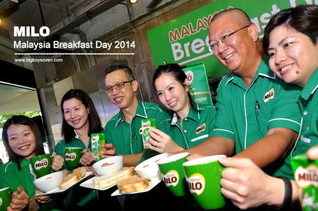 MILO Malaysia Breakfast Day 2014 7