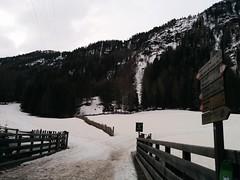 Start Skitour Magerstein an der Brücke/Säge in Rein in Taufers