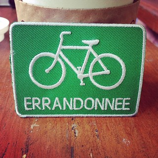 Hey it's my #errandonnee patch! #bikedc