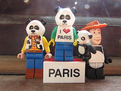 Pandaman loves Paris