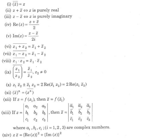 CBSE Class 11 Maths Notes Complex Number