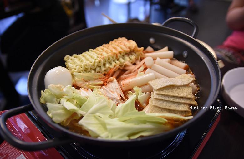 台中韓式料理一中街求求辣年糕菜單價位19