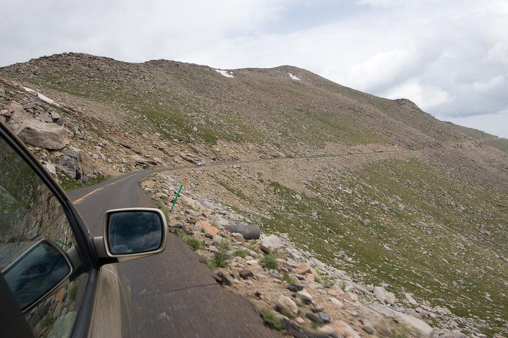 edge of road