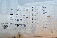 NB-52B 'Balls 8'  Mission markings #6