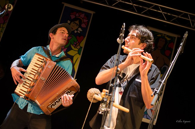 Anderson Do Pife et Sébastian Silva