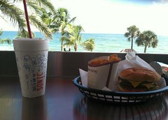 View from Sonic Beach in Ft. Lauderdale