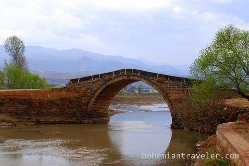 Bridge Shaxi Yunnan China