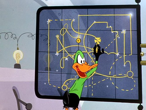 Duck Dodgers 4 chart end